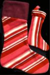 Striped Christmas Stockings! by MissKittyChaos