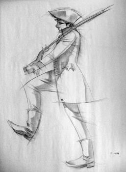 Gesture Drawing - March by moth-eatn