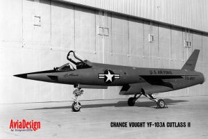 Vought YF-103A Cutlass II by Bispro