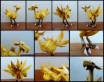 Final Fantasy 9 - Chocobo papercraft by alicestuff