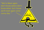 Singing Bill Cipher by ABtheButterfly