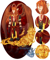 [CLOSED] Avatars of Shihar'ra - Secorum Fire Wolf by DemeDesigns