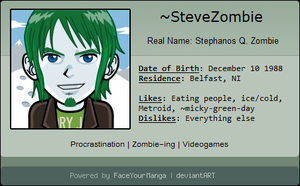 My FaceYourManga ID by SteveZombie