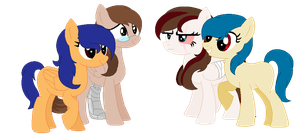 Me And My Sisters Ponified by FioPonez