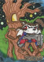 Guardians of the Galaxy - Rocket Raccoon and Groot by 10th-letter