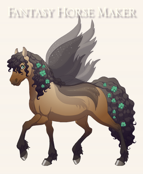horse adopt 4 by SapphireCookie