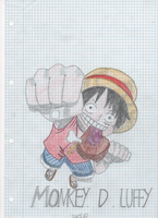 Luffy-One Piece by YokoTail