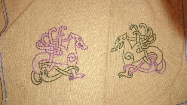 Viking Embroidery  by Tjeika