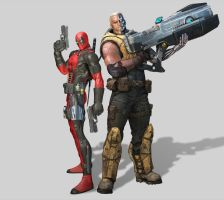 CableDeadpool Dteam01ms1 by Dozogovi