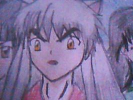 inuyasha by iluvdogs101