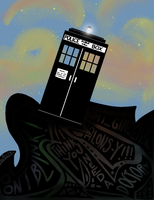 The classic Tardis by Asil3