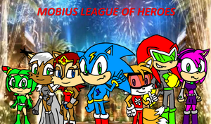 Mobius League of Heroes by FrostTheHobidon