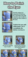 My Little Pony Custom Guide - The Eyes by Amandkyo-Su