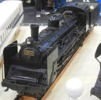 Miniature JNR Pacific C55.45 at Twin Messe by rlkitterman