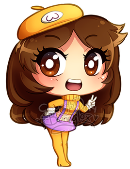 Chibi MadameWario by Bunnyloz