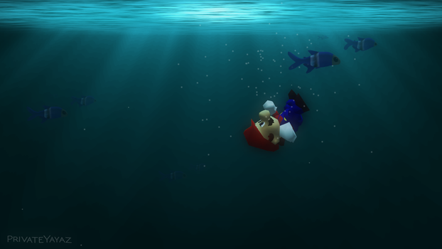 Is Mario... drowning? by Irham7762
