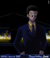 Leorio - March 3rd by LauraPaladiknight