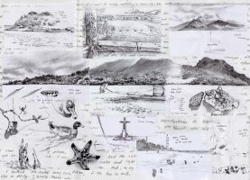 Camiguin Island Trip - Sketches by Nick-Ian