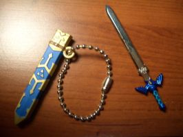 Link Master Sword Keychain 02 by StealthNinja5