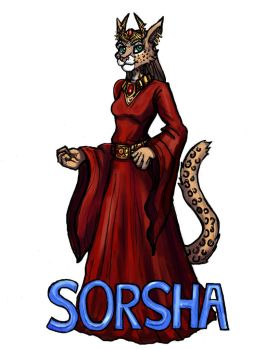 Commission - Sorsha by TheLivingShadow