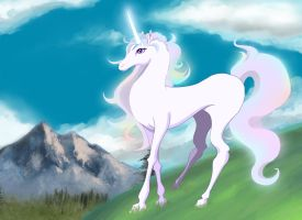 The Last Unicorn by Azterion