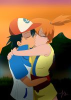 Pokeshipping: Never Leave Again by setosangel28