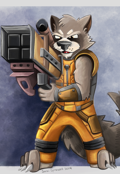 Rocket by theKatandtheBox