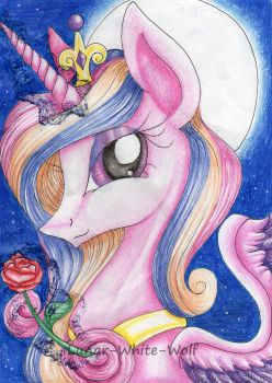 The love princess by Lunar-White-Wolf