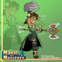 Magic Meisters: Vale Mage Class Concept by PolyMune