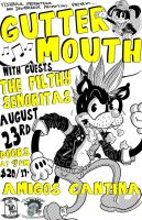 GUTTERMOUTH poster by sirhcsellor