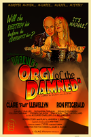 DRACULA'S ORGY OF THE DAMNED movie poster by PaulBaack
