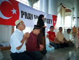 Aceh Pray For Turkey by Iqbalmuhammad97