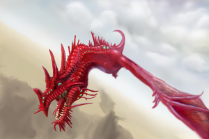 red dragon WIP - help pls by hail-the-oblivious