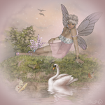 Brienn and Swan by CaperGirl42