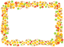 Maple Leaves Frame by flashtuchka