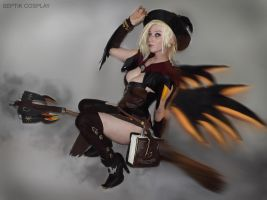 Witch Mercy II by AnneTSeptik