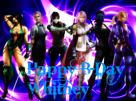 Happy B-Day Whitney by BeeVue