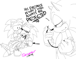 Why Do you Hurt Classic Sonic? by SEGAMew