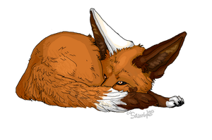 Ciara the Eevee- Gift by Dealupus