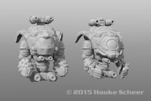 Hover Drones by hauke3000