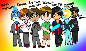 Youtube Crafters by ColbieWhite