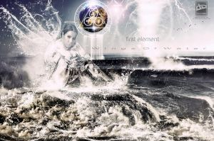 first element - Wings Of Water by 35-Elissandro