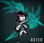 BJBB Chibi: Aster by Zungie