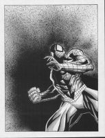 spider-man spatter by bolognafingers