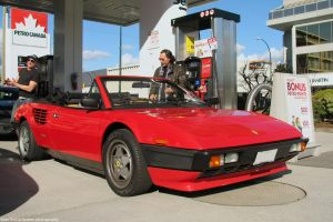 Mondial at some random gas station by SeanTheCarSpotter