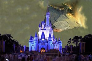 Star Wars invades Disney World by peteopolis