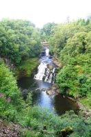 Scotland, New Lanark Waterfall by elodie50a
