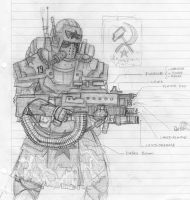Soviet Heavy Trooper by Taurus-ChaosLord