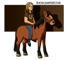 Gift: Showjumperstar by Aileen-Rose