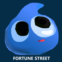 FORTUNE STREET SLIME by beelzebestfriend4lyf
